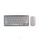 Cheap Ultra Slim USB mouse keyboard set wireless keyboard and mouse for promotion H263 Slim multimedia keyboard with 78 keys wit