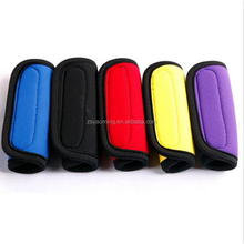 Custom printed suitcase neoprene luggage handle grip cover