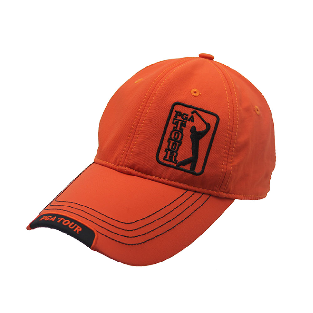 China factory orange golf hat customized sport caps tennis baseball cap  golf hats with logo 4581ae55d3f