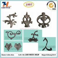 precision casting high quality aluminum cast iron decoration