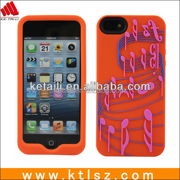 Epóxi silicone tampa do telefone celular para o iphone 6 boa vinda DO OEM