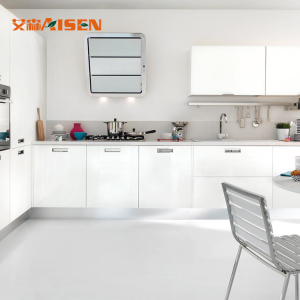 Modern Satin Painting Lacquer Material Kitchen Cabinets for Australia Market