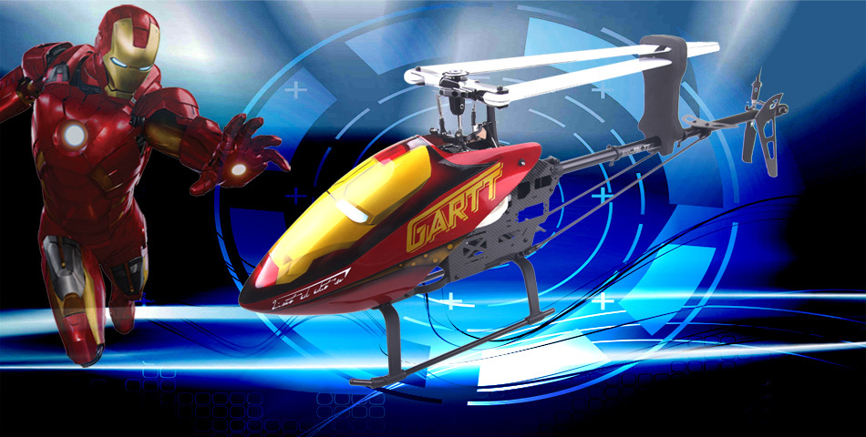 Free shipping Gartt GT500 DFC TT  RC Helicopter/scale model/drone/air