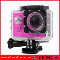 WIFI Sport Action Camera Mini HD for Bicycle/Motorbike/Skiing/Extreme