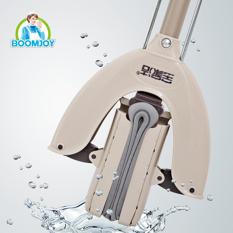 BOOMJOY Super water absorbent hands free adjustable PVA floor cleaning mop