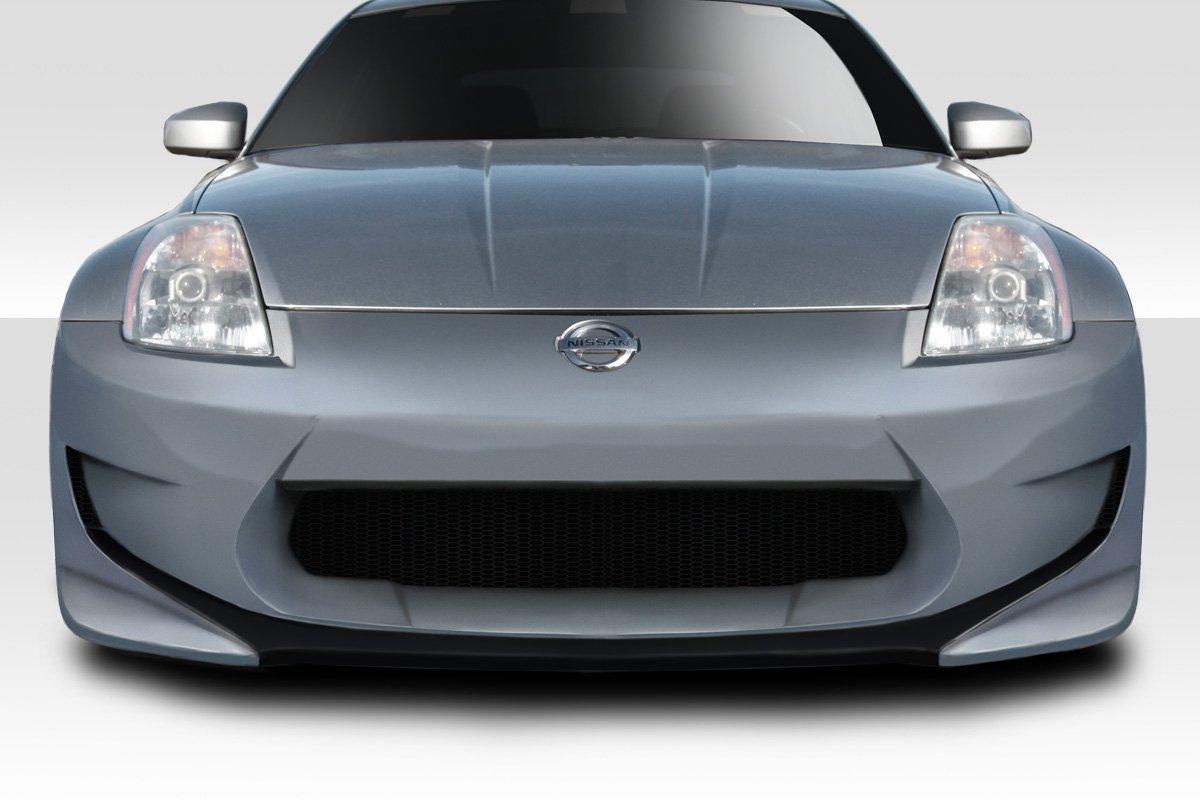 Couture Urethane AMS GT Front Bumper - 1 Piece Body Kit - Fits Nissan 350Z - 2003 2004 2005 2006 2007 2008 | 03 04 05 06 07 08 (ED-TQC-441)