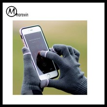 2017 Morewin high quality Texting Gloves Black Smart Phone iphone Touch Screen Iglove