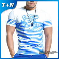 Heat Transfer Polyester Sublimation T Shirts Printing For Men
