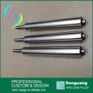 Hard Chrome Plated Roller, Electric Wire Guide Roller For Extruding Machine And Wire Cutting Machine