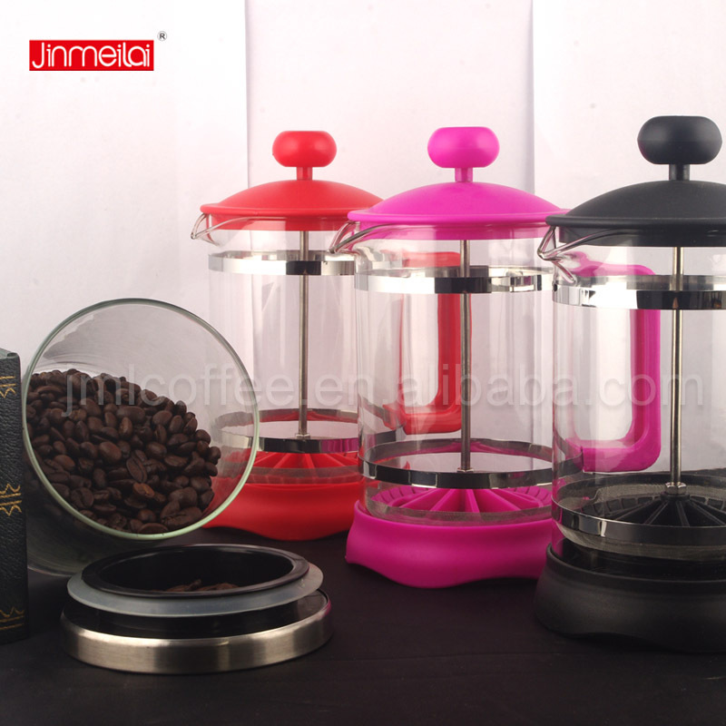 Plastic coffee press,plastic coffee plunger,French coffee pot