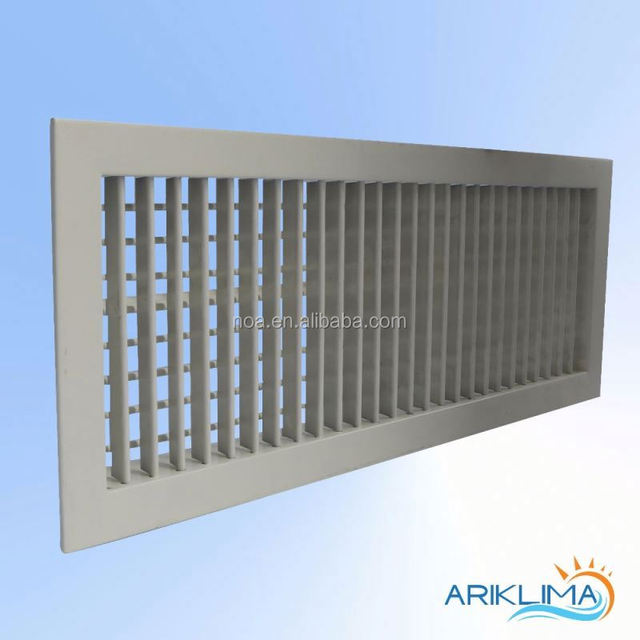 Double Deflection Air Door Louver With Project Customized Sizes DDC