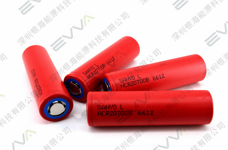 15A 20700 Original Li-ion High Drain Sanyo 20700 Battery 4250mAh 15Amps