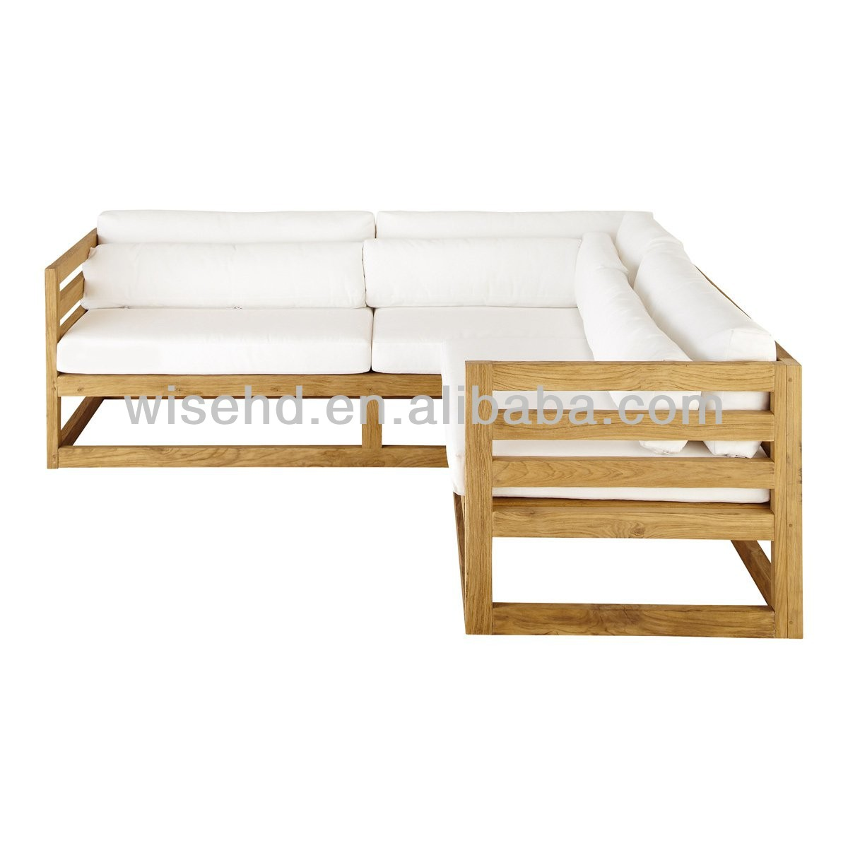 wb0065 Solid Pine Wood Corner Sofa Buy Corner SofaSolid Wood