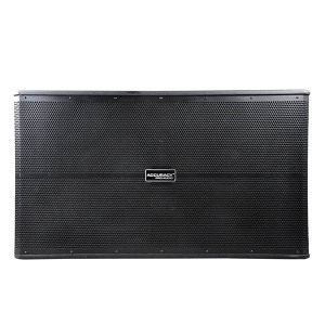 "Dual 18"" 1000W Active Subwoofer Speaker Box WP218SA"