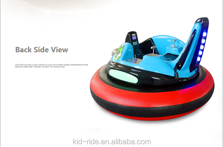 Amusement  Theme Park Playgrounds Kids UFO Spaceship Bumper Car Electric Family Entertainment UFO Bumper Cars