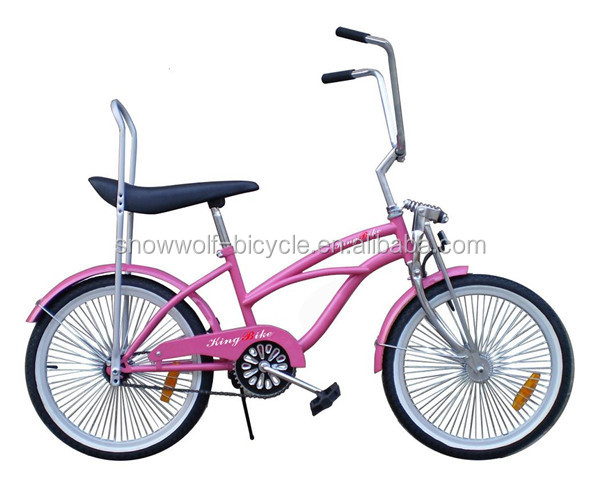 20 Inch Girls Beach Cruiser Bike Chopper Bicycle Beach Cruiser