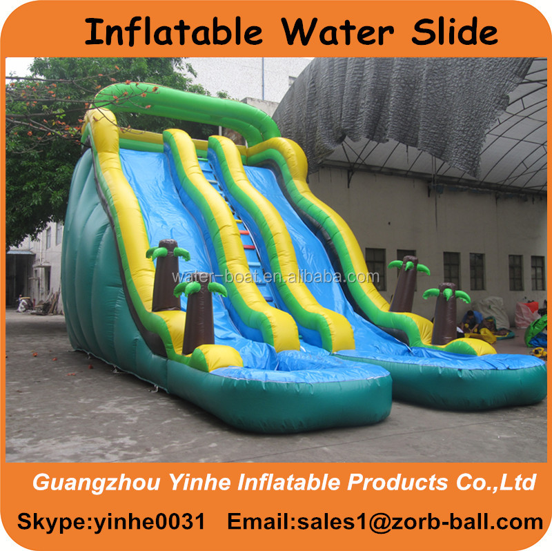 Inflatable Slide Where To Buy: Hot Sale Kids Inflatable Water Slide With Pool
