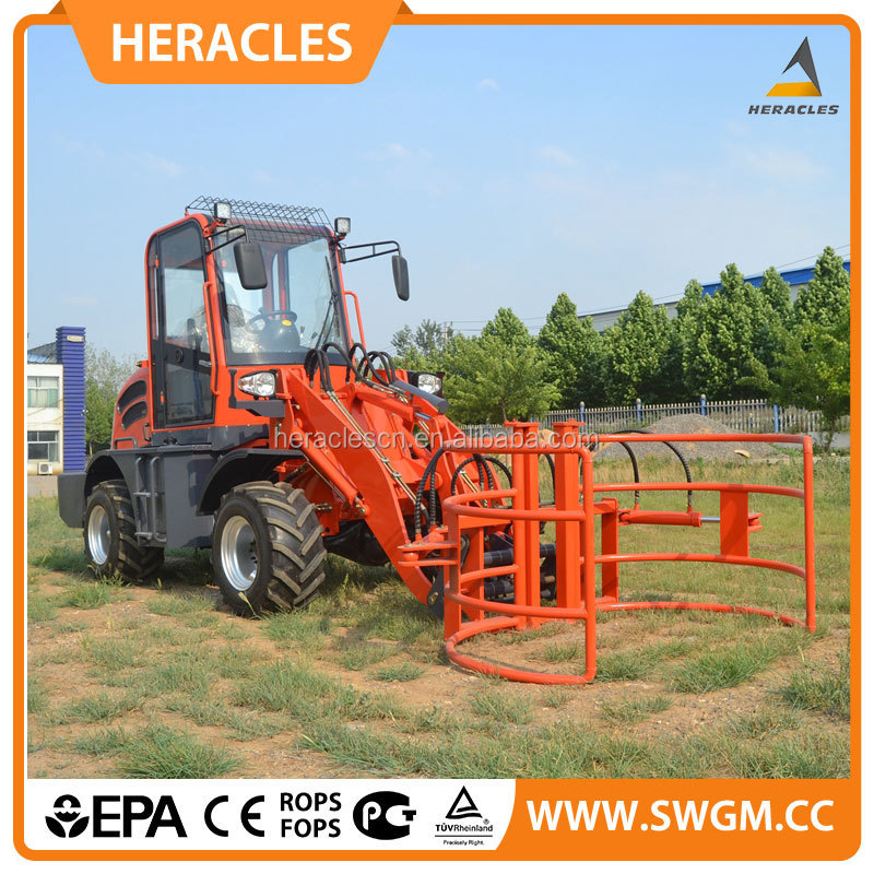 china supplier small garden tractor with front loader for sale