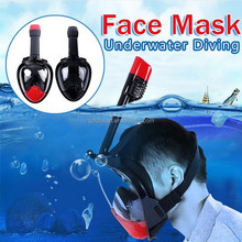 Hot selling amazon 2017 snorkel mask ,full face snorkeling mask, Anti-fog tribord full face scuba diving mask for Gopro