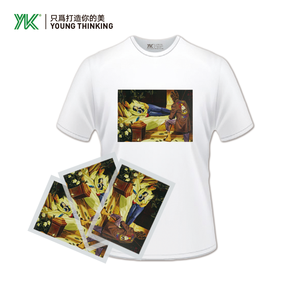 T Shirts For Sublimation Sequin Heat Transfer Printing