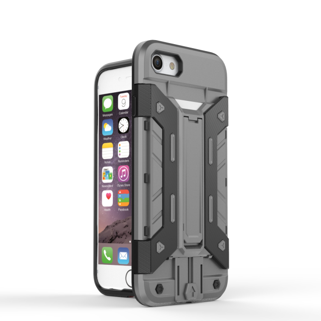 Rugged Armor Hybrid Impact Shockproof Stand Hard Case <strong>Cover</strong> For iPhone 7