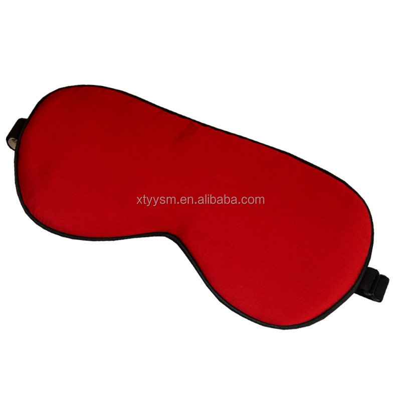 Fashional Polyester Cloth Best Silk Eye Mask, cooling eye mask for sleep