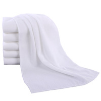 Custom Sublimation Printed White Blank Microfibre Bath Towel For Beach