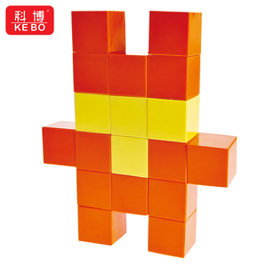 children's magnetic toys Magnetic Blocks 3D Puzzle diy toys for Kids cube magic Develop Intelligence Educational Toys