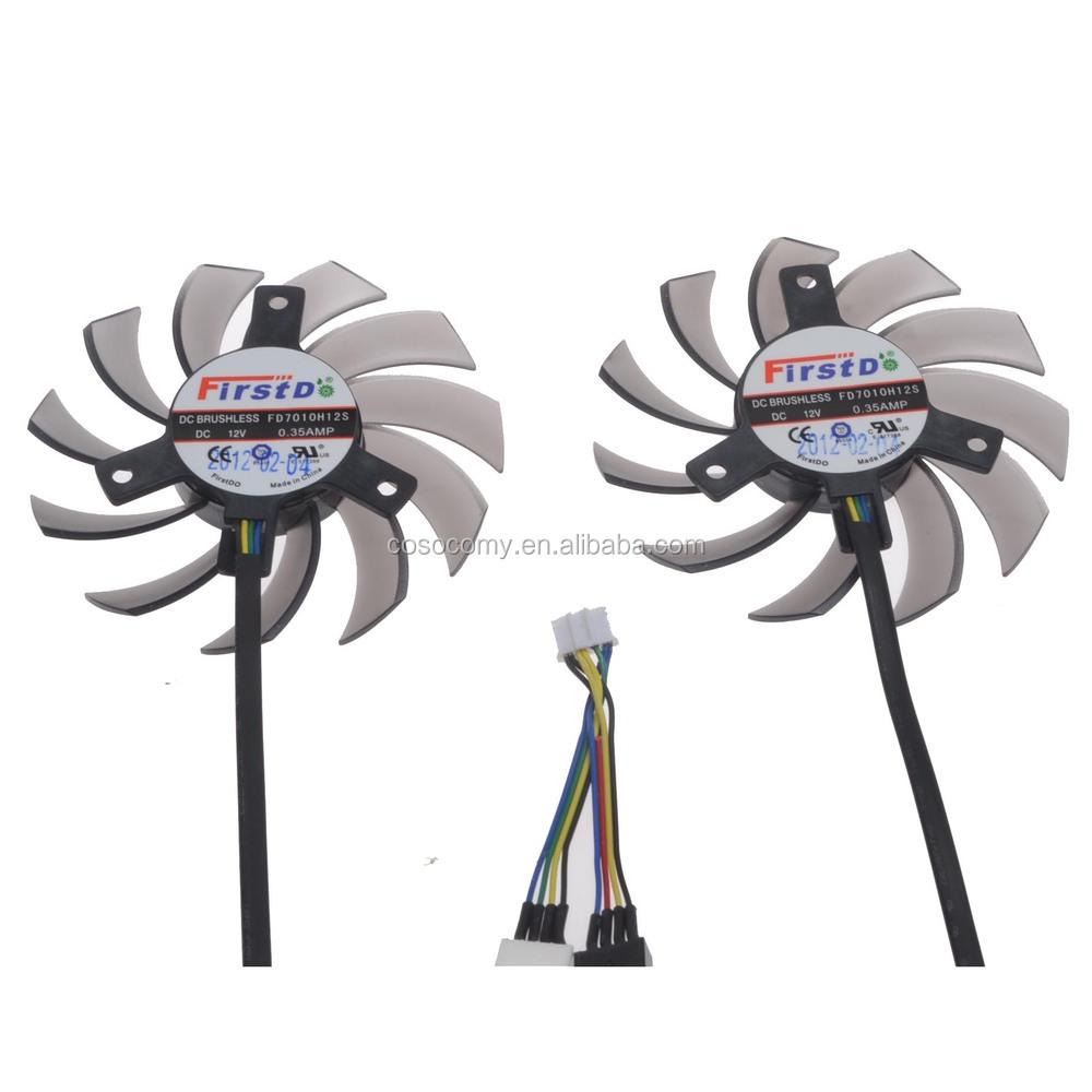110mm 12v Fan : Laptop fan replacement firstd fd h s mm pin v