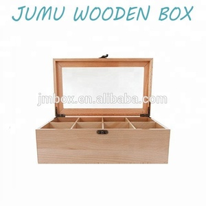 custom design raw wood tea bags packaging gift boxes