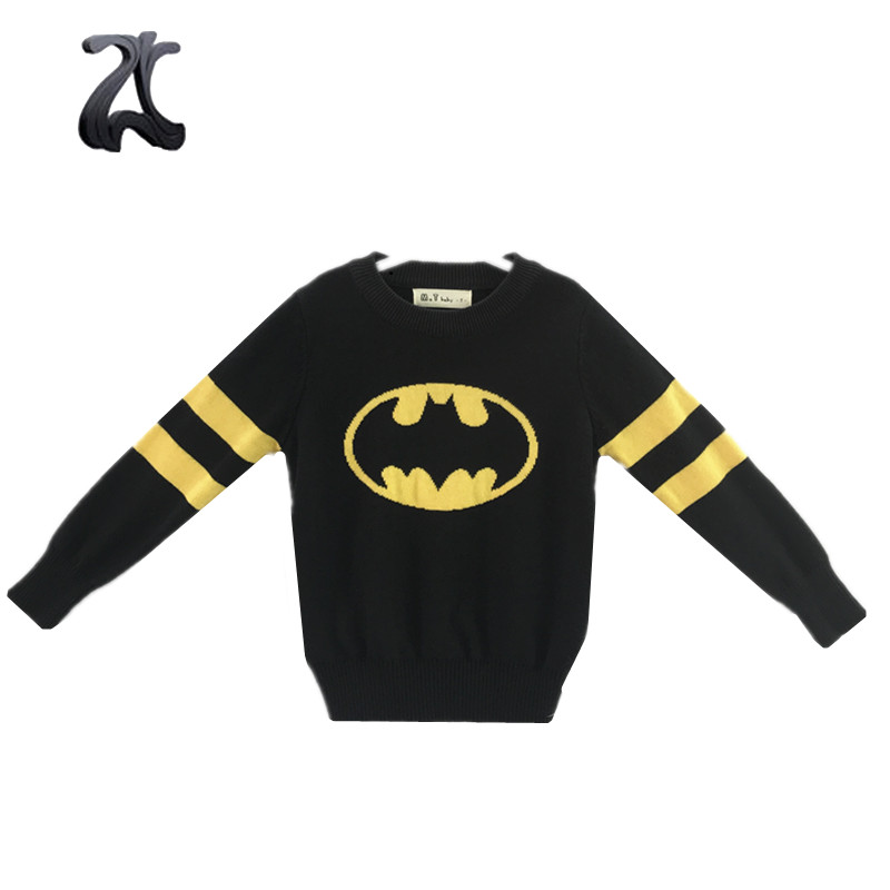 Online Kinder Jungen Strickwaren Cartoon Design Pullover