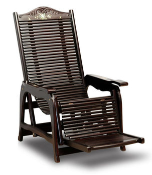 Exceptionnel Wooden Recliner