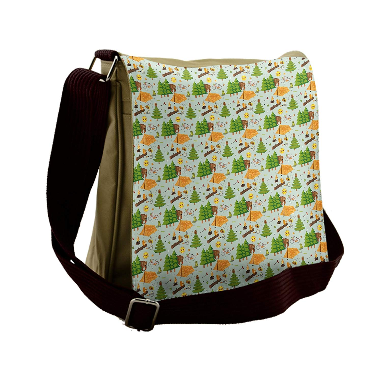 d8062fdf64bb Get Quotations · Lunarable Camping Messenger Bag