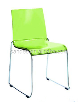 Ordinaire Elegant Cheap Light Green Surface Acrylic Wedding Chair With Metal Legs