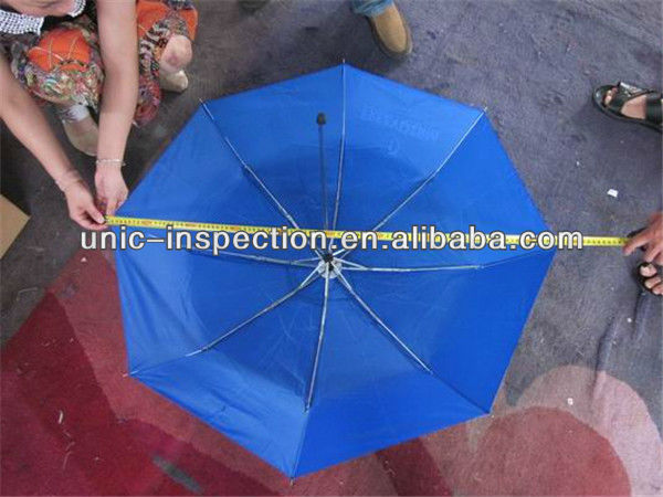 umbrella inspection/quality control in bumbershoot,unbrealla/quality inspection in unbrella