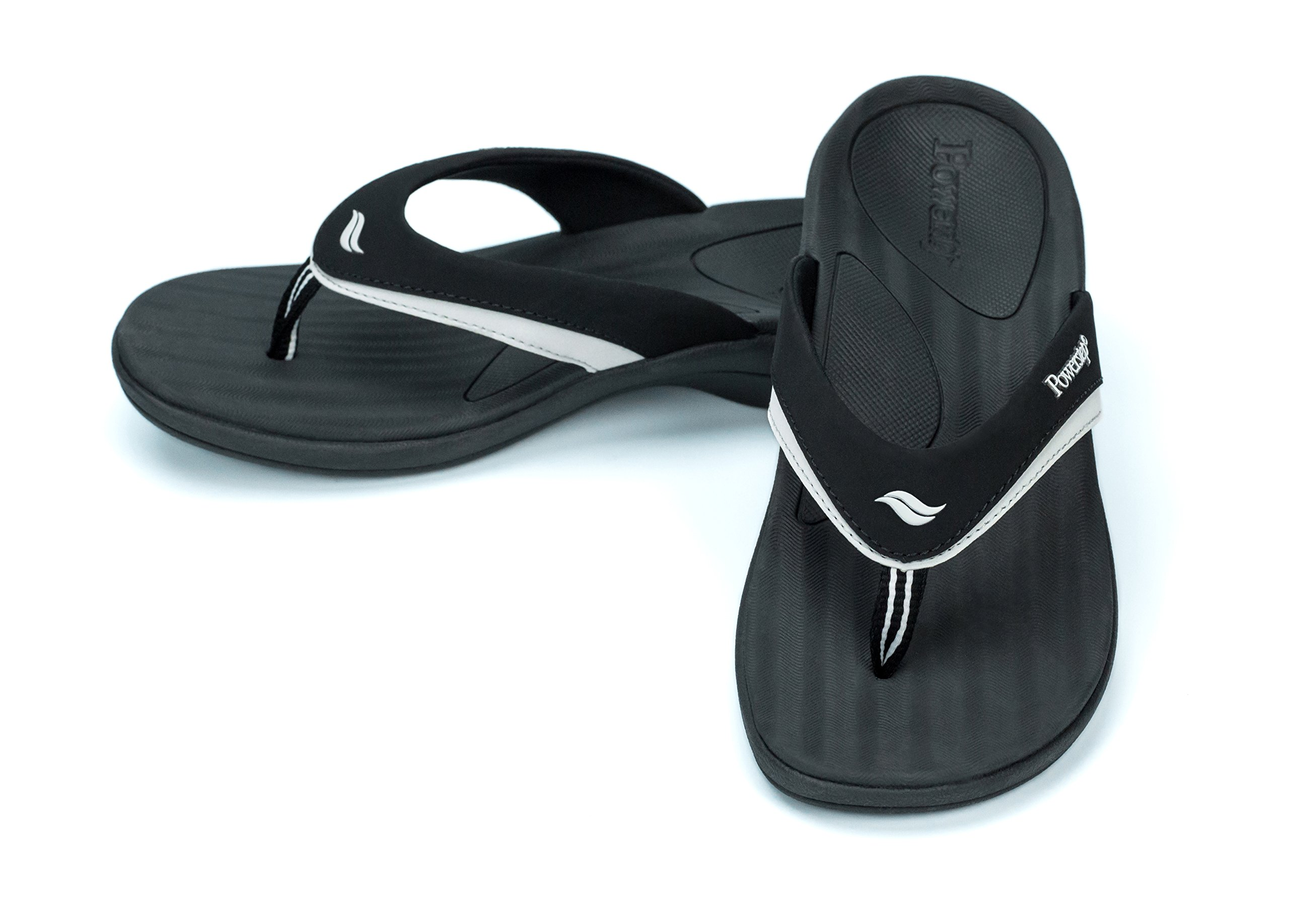 30b6cb657 Powerstep Women s Fusion Flip-Flop Sandals – Orthotic Sandal with Built-in  Arch Support