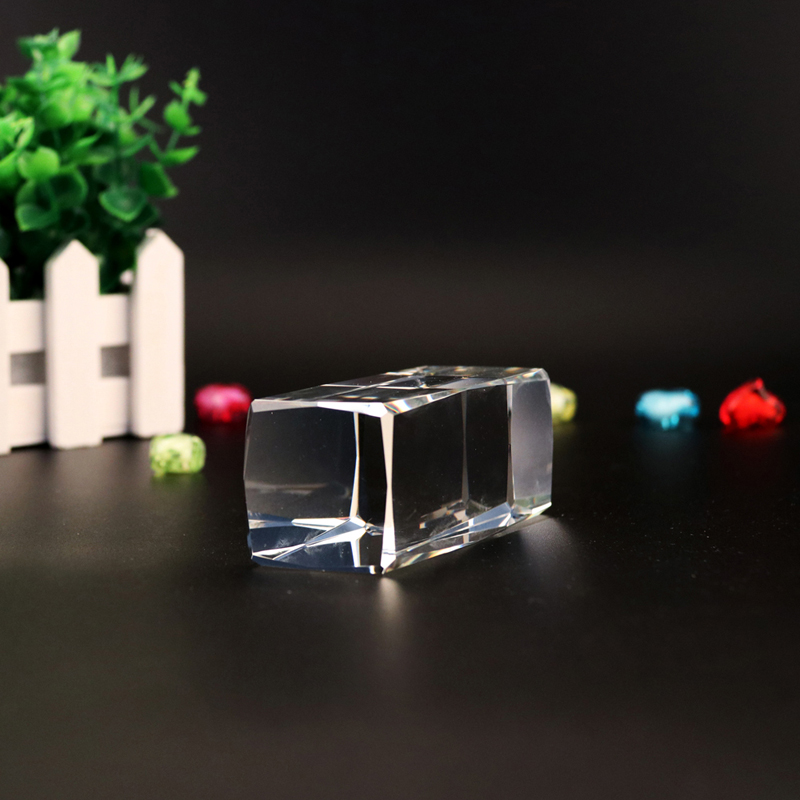 K9 blank 24 angle crystal cube for 3d laser
