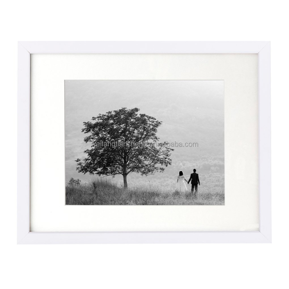 "11""x14"" 8""x10"" White photo picture frame"