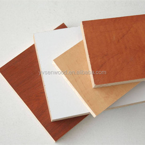 2018 distribute MDF price plain/melamine /laminated/painting HDF board