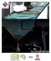 luxury jacquard fabric table cloth table runner