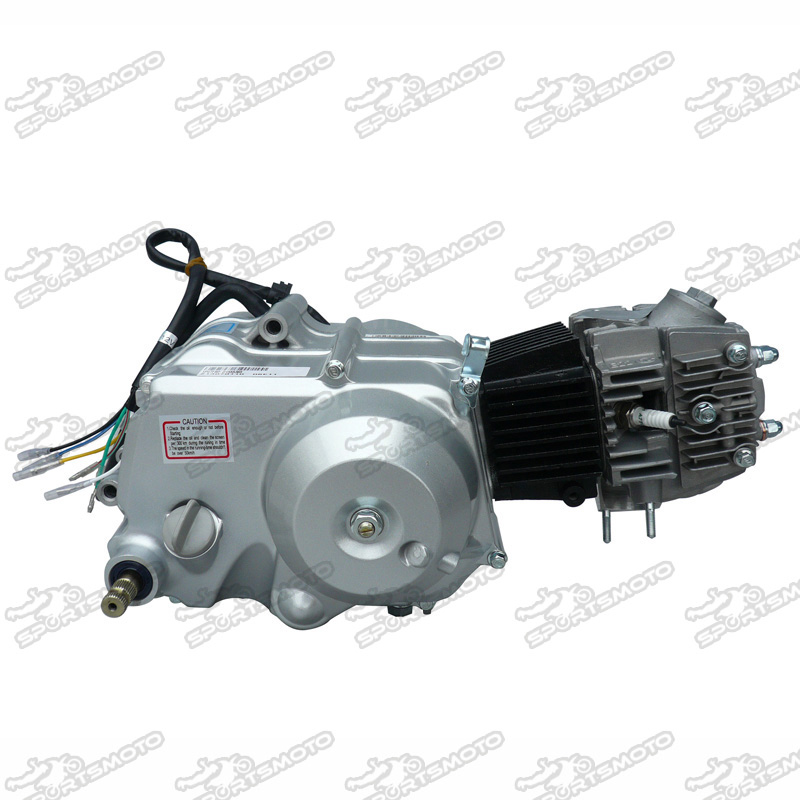 Pit Dirt Bike Parts Lifan 90cc 4 Stroke Engine Semiautomatic