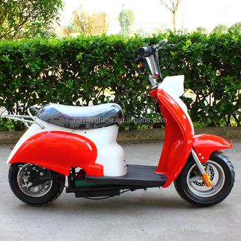 Electric Mini Vespa Motorcycle Scooter 24v 300w