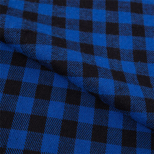 blue colour minimatt fabric in 100% polyester fabric of minimatt check fabric Gingham Check fabrics 1/2, 1/4, 1/8...1/24