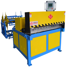 2018 New style Super auto square duct production line 2 pipe tube making machine