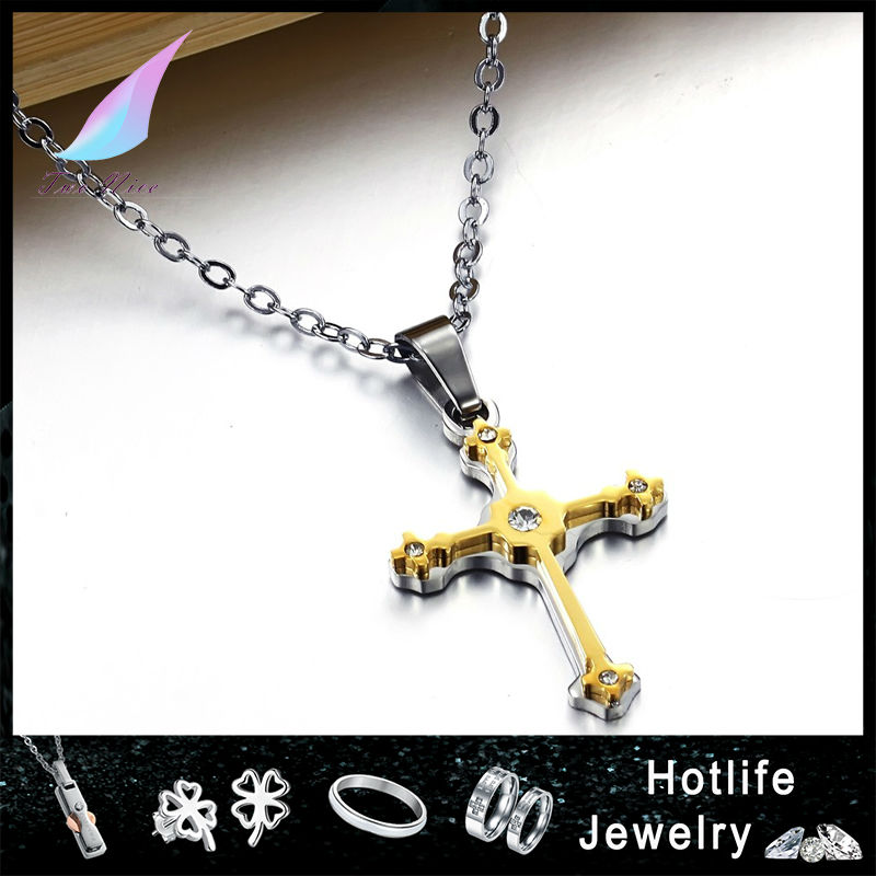 wholesale jewelry 316L steel pendants charms jesus christ cross pendant