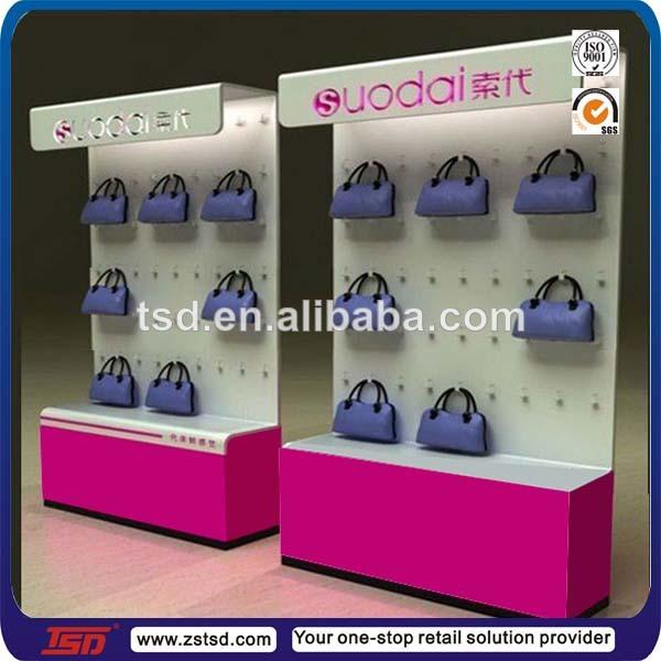 7117e50960 Custom retail store lady bag display cabinet,display rack for handbags, handbag  display stand