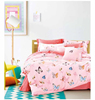 Hot sale! cute cartoon 100% cotton children bedding set for Kids, Children