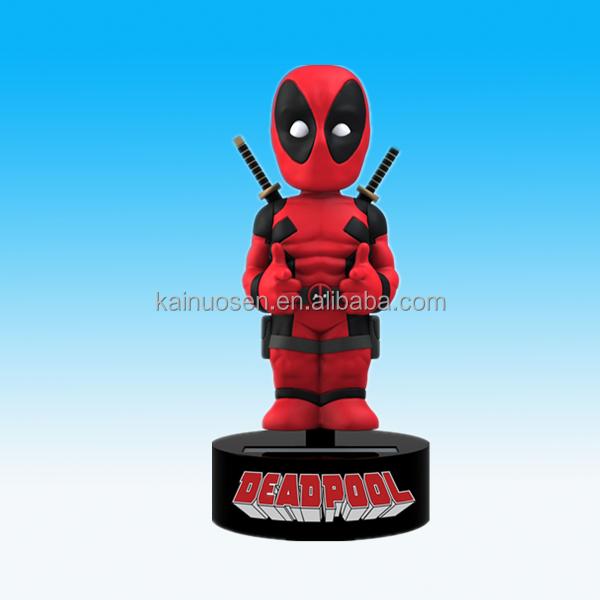 Custom 6'' Polyresin/resin Deadpool Dashboard Bobble Head
