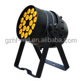 18pcs 1W / 3W LED Multi Color Par64 Light