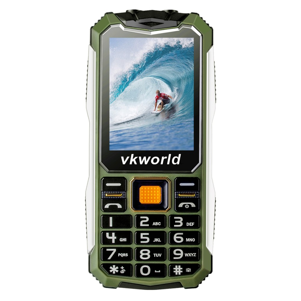 Vkworld Stone V3S 2017 Hot Selling 2530 Box Bluetooth Waterproof 2.4 inch Unlock Latest Function China Mobile Phone with camera